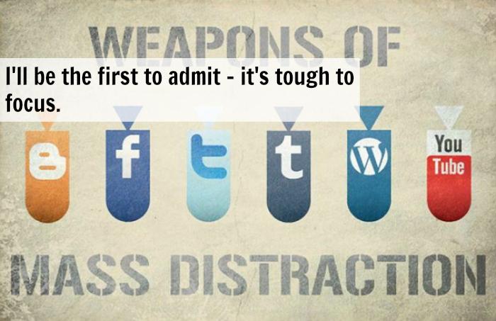 Minimizing Distractions